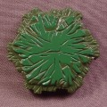 Heroscape 1 Hex Swamp Terrain Tile, Hasbro, 1 Space, Dark Green