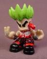Tech Deck Dude Eddie, #071, Evolution Crew E1, Green Hair, Pierced Tongue, 2003