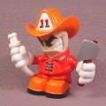 Tech Deck Dude Blaze, #095, Dudes Evolution Crew E3, Orange Hat, 2003 X-Concepts
