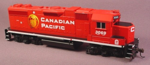 Oo Scale Gauge Canadian Pacific Diesel Engine #3069, Tested, Railroad Train