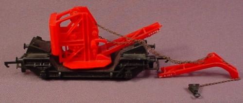 Hornby Oo Scale Gauge Crane Car R127, Railroad Train, (Boom Is Broken)