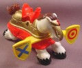 Fisher Price Horse With Yellow Jousting Targets & Red Saddle, 7123 77123