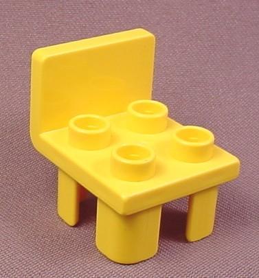 Lego Duplo 6478 Yellow Chair Furniture, Playhouse, Farm ...