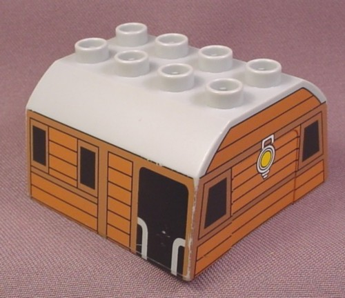 Lego Duplo 51548 Medium Stone Gray 4X4 Train Roof With ...