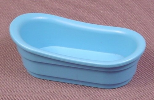 playmobil blue victorian baby or child size bathtub 4286. Black Bedroom Furniture Sets. Home Design Ideas