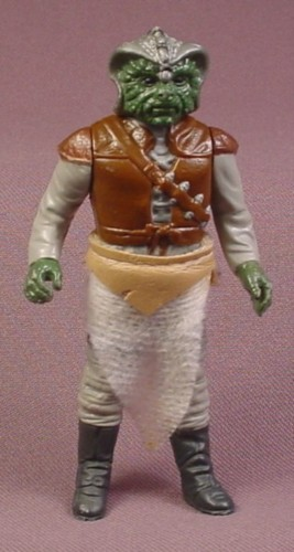 "Star Wars Klaatu Alien Action Figure, 3 7/8 "" , 1983 Kenner, Return Of The Jedi"