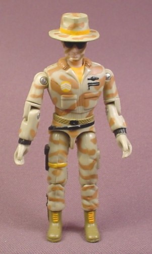 "G.I. Joe The Corps Jones Action Figure, 4 ""  tall, 1986 Lanard, GI Joe"