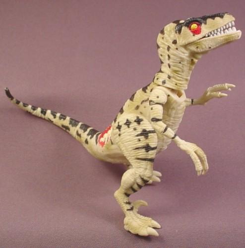 "Jurassic Park Snap Jaw Raptor Motorcycle Pursuit Dinosaur, 5 3/4 "", 2000 Hasbro"