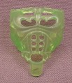 Batman Green Chest Armor Accessory for Neon Armor Batman Action Figure, 1995 Kenner