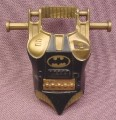 Batman Chest Armor Plate Accessory for Air Attack Batman Action Figure, 1992 Kenner