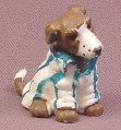 Topps Precious Puppies Dog In Soccer Jersey PVC Animal Figure, Poco, 1997 Topps