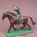 Disney Chronicles of Narnia Prince Caspian on Horse PVC Figure on Base, 4 1/4