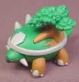 "Pokemon Torterra PVC Figure, 2 1/4"" tall, 2007 Jakks, Legs are jointed"