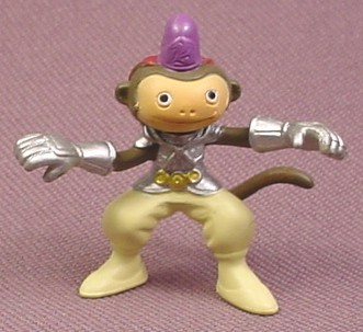 "Digimon Makuramon Monkey Deva PVC Figure, 1 3/8"" tall, 2001 Bandai"
