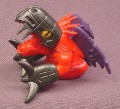 "Digimon Metal Greymon PVC Figure, 1 3/4"" tall, 1998 Bandai"