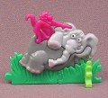 Kinder Surprise 1997  Plastic Puzzle, Elephant & Monkey, Light Head, K97N11B