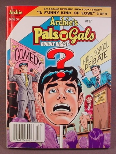 Archie's Pals N Gals Double Digest Magazine Comic #137, Feb 2010, Very Good Condition