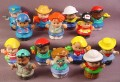 Fisher Price Lot Of 14 Modern Little People C