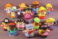 Fisher Price Lot Of 14 Modern Little People (E)