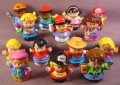 Fisher Price Lot Of 14 Modern Little People (G)