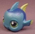 Littlest Pet Shop #327 Blue & Yellow Clown Fish, Dora, Hasbro
