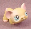 Littlest Pet Shop #1412 Tan Baby Mouse with Blue Eyes, Hasbro