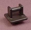 Playmobil Black Lamp Mounting Plate, System X, 3004 3014 3079 3082 3092 3120 3159 3165