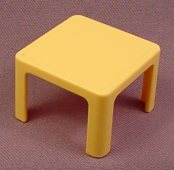 Playmobil small yellow square table 4286 furniture 1 5 for Table playmobil