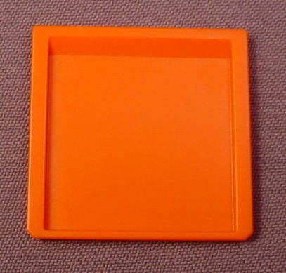 Playmobil Orange Square Baking Tin Sheet 3968 4055 4062