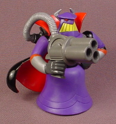 Disney Toy Story Evil Emperor Zurg PVC Figure With Ray Gun 2 5/8 Inches Tall Figurine - RONS ...