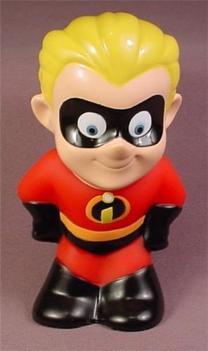 The Incredibles Toys : Disney the incredibles dash soft plastic squeaky bath toy