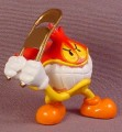 Tech Deck Dude Flameboy In Wrestling Costume, Swinging A Folding Chair, Wrestler, 2003 X-Concepts
