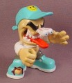 Tech Deck Dude Booger #029, Light Blue Hat, Bulging Eyes, From Zoods Z6 Series, 2004 X-Concepts