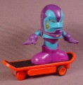 Tech Deck Dude Front Flip Metal Man, Trick Dudes Series, 2009 Spin Master