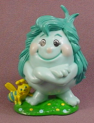 Snugglebumms Spritely PVC Figure With Arms Crossed, 2 5/8 Inches Tall, 1984 Playskool