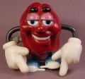 California Raisins Wind Up Walking Figure, 3 3/8 Inches Tall, 1988, Applause, Wind-Up