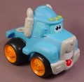 Playskool Tonka Wheel Pals Blue Semi Truck With Hitch, 4 Inches Long, 2006 Hasbro