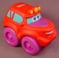 Playskool Tonka Wheel Pals Red 4X4 Truck With Yellow Running Lights, 4 Inches Long, 2004