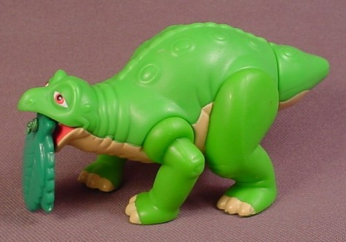 Land Before Time Toys : Burge king the land before time mealtime spike toy