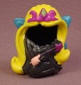 Mighty Beanz Original Bodz, #257 Fairy Princess Bod, 2003 - 2004 Moose, Black, Blue Wings