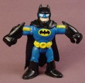 Fisher Price Imaginext Batman Action Figure, 2 7/8 Inches Tall, Black & Blue Uniform