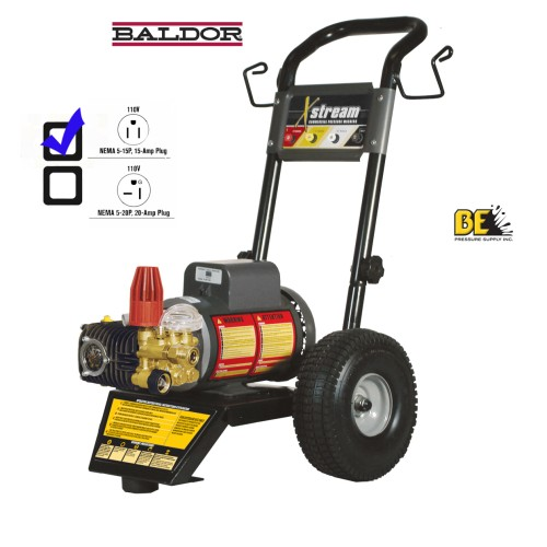 110v Electric Pressure Washer Up To 1500psi Baldor Motor