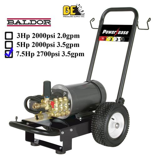 Electric pressure washer 220v up to 2700psi single phase 3hp 220v single phase motor