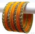 Antique & Haldi Indian Bangles jewellery Ethnic Belly Dance Bracelet Set