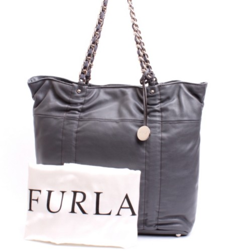 Furla Fortuny Catena Leather Shoulder Bag 85
