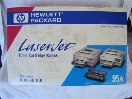 Hewlett packard laserjet 95a toner cartridge 92295a for 92295a