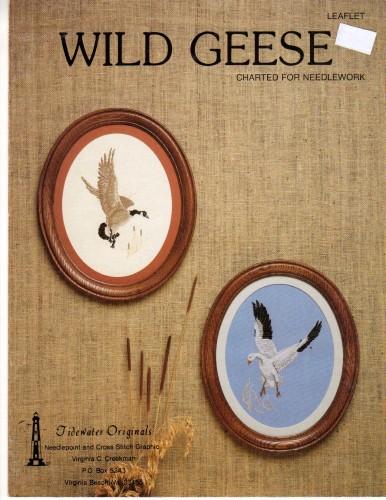 Tidewater Originals Wild Geese Cross Stitch Stash