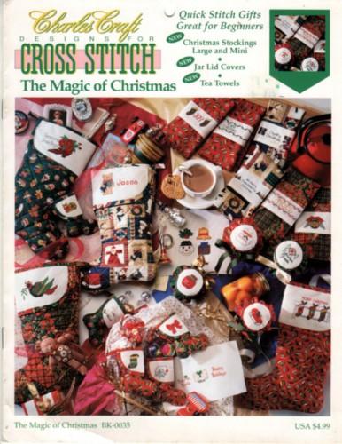 Charles craft the magic of christmas cross stitch stash for Charles craft christmas stockings