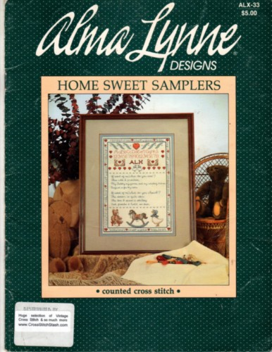 Alma lynne designs home sweet samplers cross stitch stash for Country living magazine cross stitch