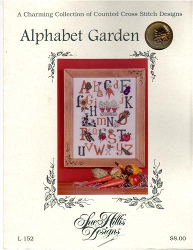 Sue Hillis Designs Alphabet Garden With Charms Cross